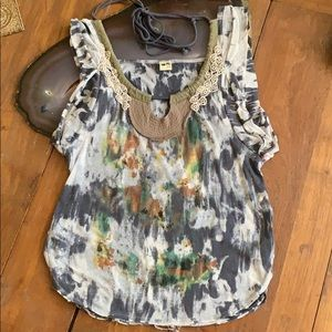 Free People Slouchy Shirt